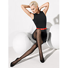 Buy Wolford Starlight Tights, Black Online at johnlewis.com