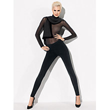 Buy Wolford Holly Leggings, Black Online at johnlewis.com