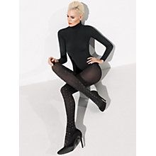 Buy Wolford Fabienne Tights, Black Online at johnlewis.com