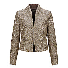 Buy Somerset by Alice Temperley Sequin Jacket, Gold Online at johnlewis.com