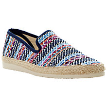 Buy Bertie Fahrenheit Espadrilles, Blue Multi Colour Online at johnlewis.com