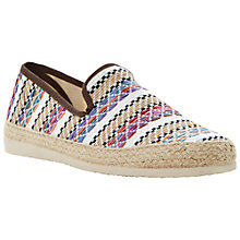 Buy Bertie Fahrenheit Espadrilles, Natural Multi Colour Online at johnlewis.com