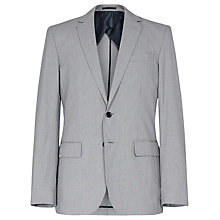 Buy Reiss Miami Patterned 2-Button Blazer, Light Blue Online at johnlewis.com
