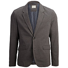 Buy Selected Homme Edmund Jersey Blazer, Grey Online at johnlewis.com