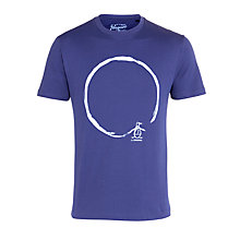 Buy Original Penguin Be Original Circle T-Shirt Online at johnlewis.com
