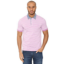 Buy Original Penguin Fine Stripe Polo Shirt Online at johnlewis.com