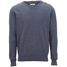 Buy Selected Homme Nevada Bering Jumper, Grey Online at johnlewis.com