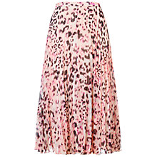 Buy Whistles Elie Brushed Fur Skirt, Multi Online at johnlewis.com