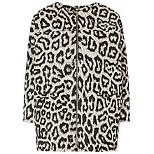 Buy Whistles Esther Animal Print Jacket, Multi Online at johnlewis.com