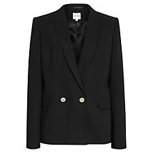 Buy Reiss Monza Blazer, Black Online at johnlewis.com