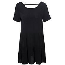 Buy True Decadence Drop Waist T-Shirt Dress, Black Online at johnlewis.com