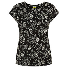 Buy NW3 by Hobbs Naomi T-Shirt, Black/White Online at johnlewis.com