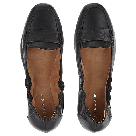 Buy Jigsaw Holly Leather Pumps Online at johnlewis.com