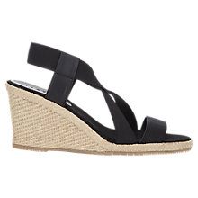 Buy Jigsaw Marie Heeled Wedge Sandals Online at johnlewis.com