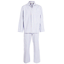 Buy Derek Rose Brushed Cotton Stripe Pyjamas Online at johnlewis.com