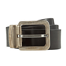Buy Diesel Begles Leather Belt Online at johnlewis.com
