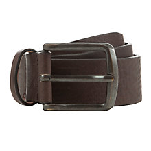 Buy Diesel Blamb Leather Belt, Brown Online at johnlewis.com