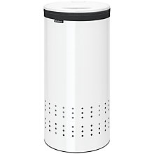 Buy Brabantia Laundry Bin, White Online at johnlewis.com