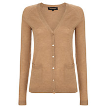 Buy Jaeger Wool Silk Blend Long Cardigan Online at johnlewis.com