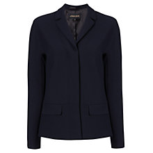 Buy Jaeger Waist Seam Detail Jacket, Navy Online at johnlewis.com