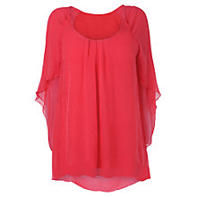 Buy Phase Eight Petal Sleeve Blouse, Gerbera Online at johnlewis.com