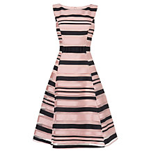 Buy Phase Eight Sinnita Stripe Dress, Black/Cameo Online at johnlewis.com