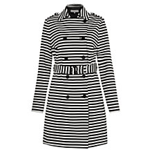 Buy Fenn Wright Manson Mulligan Trench, Black/White Online at johnlewis.com