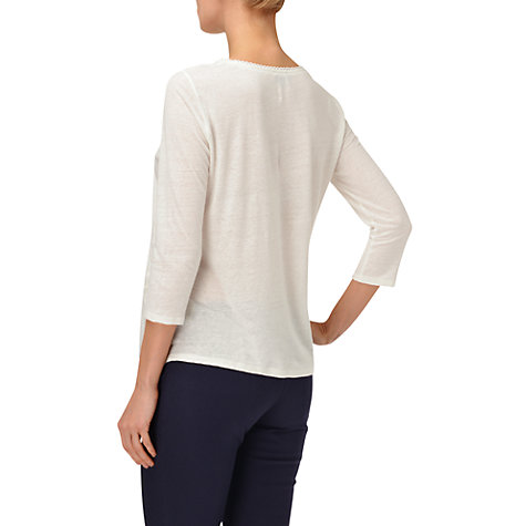 Buy Phase Eight Kirsty Top, Ivory Online at johnlewis.com