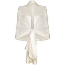 Buy Ghost Zara Shawl, Ivory Online at johnlewis.com