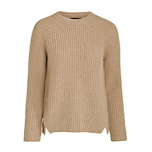 Buy Weekend by MaxMara Sonale Virgin Wool Jumper, Camel Online at johnlewis.com