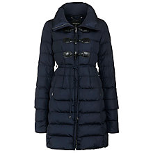 Buy Weekend by MaxMara Vezzo Quilt Coat, Midnight Blue Online at johnlewis.com