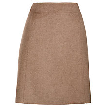 Buy Weekend by MaxMara Maesa Wool Skirt, Camel Online at johnlewis.com