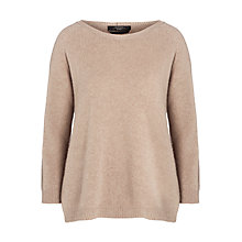 Buy Weekend by MaxMara Wool Jumper, Camel Online at johnlewis.com