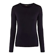 Buy Weekend by MaxMara Multie Tee, Midnight Blue Online at johnlewis.com
