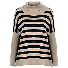 Buy Weekend by MaxMara Padre Roll Neck Jumper, Camel Online at johnlewis.com