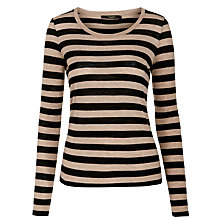 Buy Weekend by MaxMara Tirreno Stripe Top, Ultramarine Online at johnlewis.com