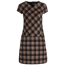 Buy Weekend by MaxMara Tartan Dress, Ultramarine Online at johnlewis.com