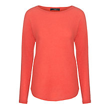 Buy Weekend by Maxmara Bastia Cashmere Jumper, Red Online at johnlewis.com