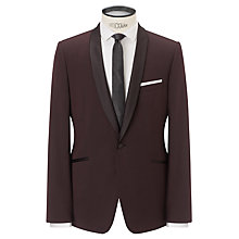 Buy Kin by John Lewis Holte Dinner Suit Jacket, Claret Online at johnlewis.com