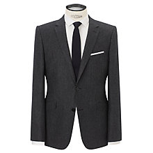 Buy Kin by John Lewis Beame Fleck Slim Fit Jacket, Charcoal Online at johnlewis.com