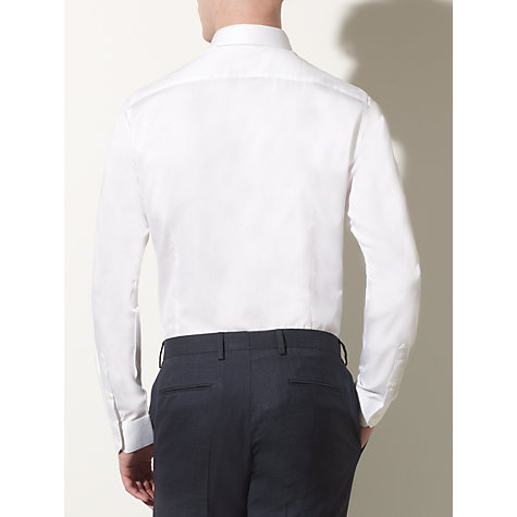 Buy Kin by John Lewis Lomax Twill Shirt, White Online at johnlewis.com