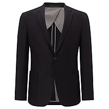 Buy Kin by John Lewis Vesper Melton Blazer, Navy Online at johnlewis.com