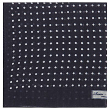 Buy Reiss Hampton Micro Polka Dot Pocket Square Online at johnlewis.com