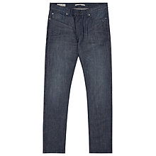 Buy Reiss Catch Washed Denim Jeans, Indigo Online at johnlewis.com