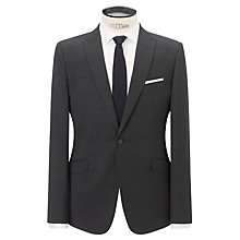 Buy Kin by John Lewis Slim Fit Pann Tonal Check Suit Jacket, Charcoal Online at johnlewis.com