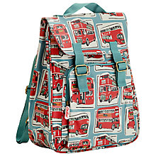 Buy Cath Kidston London Bus Backpack, Blue/Multi Online at johnlewis.com