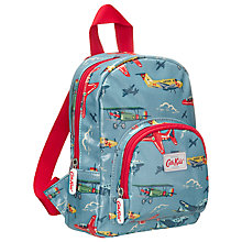 Buy Cath Kidston Planes Mini Backpack, Blue Online at johnlewis.com