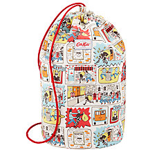 Buy Cath Kidston Stop Thief Drawstring Bag, Cream Online at johnlewis.com
