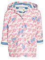 Hatley Girl's Horse Raincoat, Pink