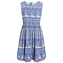 Buy Loved & Found Girls' Lace Dress, Blue Online at johnlewis.com